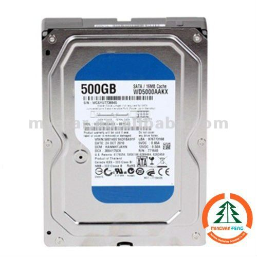 3.5'' SATA Internal Hard Disk Drive 500GB