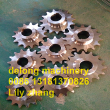 standard industrial iron conveyor roller chain drive sprocket wheel
