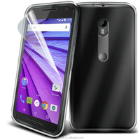 Super Thin Clear TPU Silicone Gel Skin Case Cover For Motorola Moto G3 G 3rd Gen