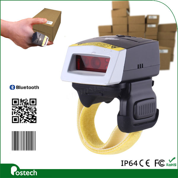 WT01+FS01 USB finger bluetooth barcode scanner android for iphone, tablet PC, wins8 for inventory control