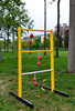 Ladder Golf Single Wooden Game Set, 2 Sets of Bolas (yellow, White)