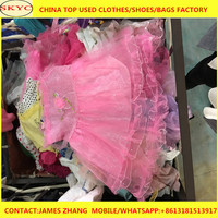 Bundle ladies used dress in bales wholesale bags used clothing