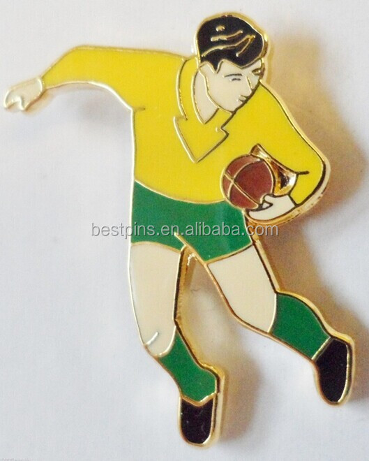 Australia Rugby Player Pin Badge