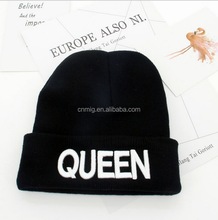manufacturer high-quality warm wholesale king and queen custom winter hat cap