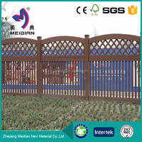 Environmental friendly decorative indoor fencing