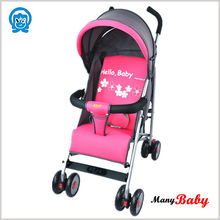 new model high-qualitied hot pink baby strollers