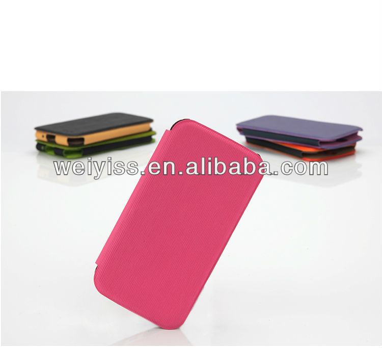 new and fashion design for Samsung S4 leather case