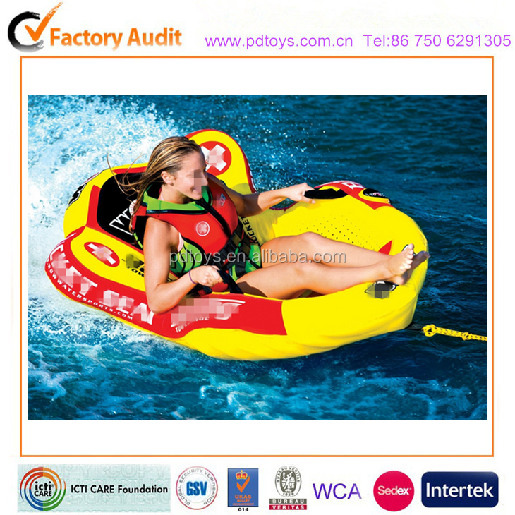 inflatable PVC tube Wake Warrior 1 Ski Tube