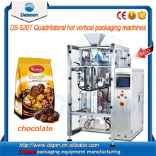 500g - 1kg automatic chocolate bar / candy filling and packing machine