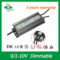30-50V led power supply 140w dimmable led driver constant current ip66 waterproof