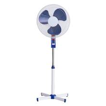 CE & ROHS 16 inch stand fan cross base 3pp blade stand electric fan