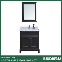 "Charcoal 30"" modern bathroom vanity cabinet"