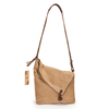 16oz canvas khaki fashion handing ladies shoulder bags