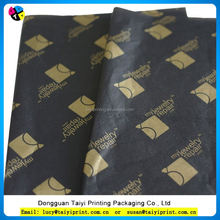 Holiday wax packing paper /soft thin tissue wrapping paper
