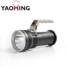 YM-3030 Brightest Hand Crank Firefighting Flashlight Professional LED Camping Light for Outdoor