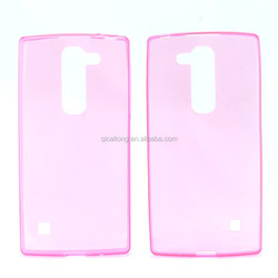 Super ultra Slim TPU Transparent Back Cover Case for LG spirit H440N