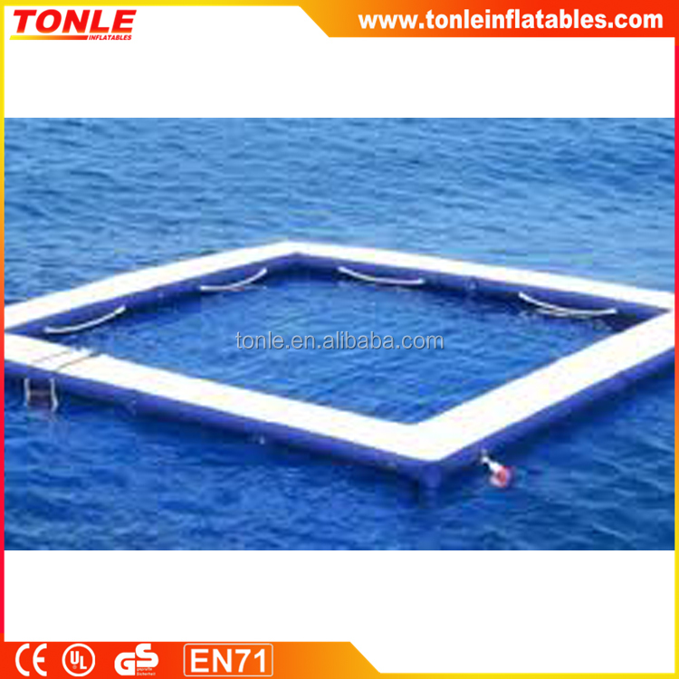 inflatable Swimming pool / floating SEA POOL for sale