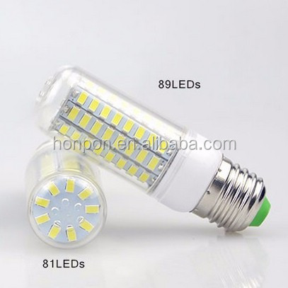 SMD 5730 E12 LED Bulb 5730SMD No Flicker LED Light Corn Lamp 100v 110v 127v Chandelier Candle Lighting