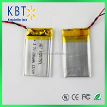 200mah Polymer Battery 3.7V lithium Battery portable battery