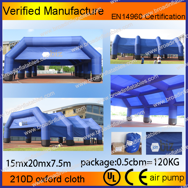 Hot selling large inflatable tent, inflatable shower tent