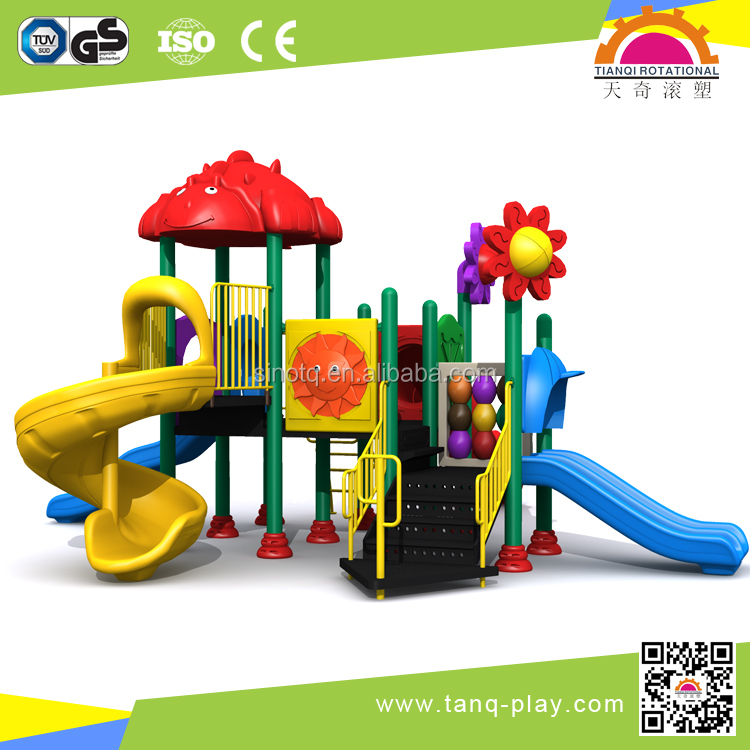 Mini play house, high quality outdoor playground equipment for kindergarten kids