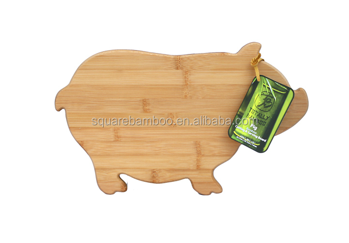 promotional pig shape cutting board
