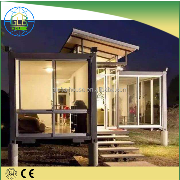 Furnished modular self contained Japan container house luxurty home