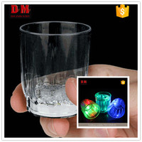 Cheap samll cup led not remote control handmade shot glasses
