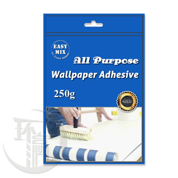 250g wallpaper adhesive (High water rate & quickly dissolve in water)