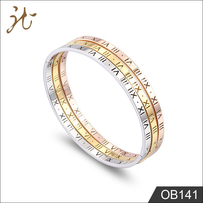 china manufacturer 18k gold stainless steel jewelry bracelet