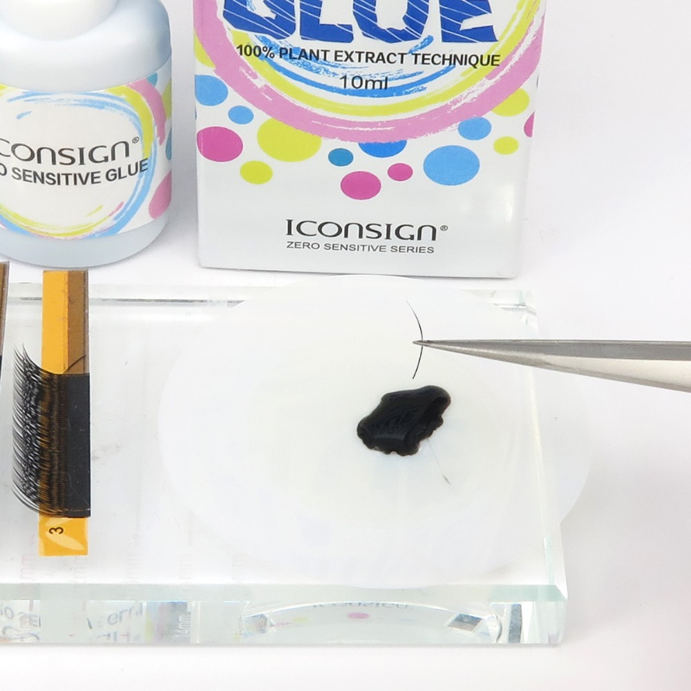 iconsign eyelash glue eyelash extension glue medical grade for sensitive eyes