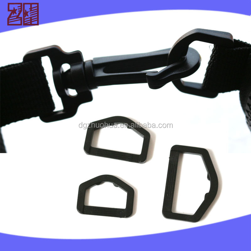 wholesale factory price plastic buckle ,plastic adjustable buckle,plastic D ring for bag strap