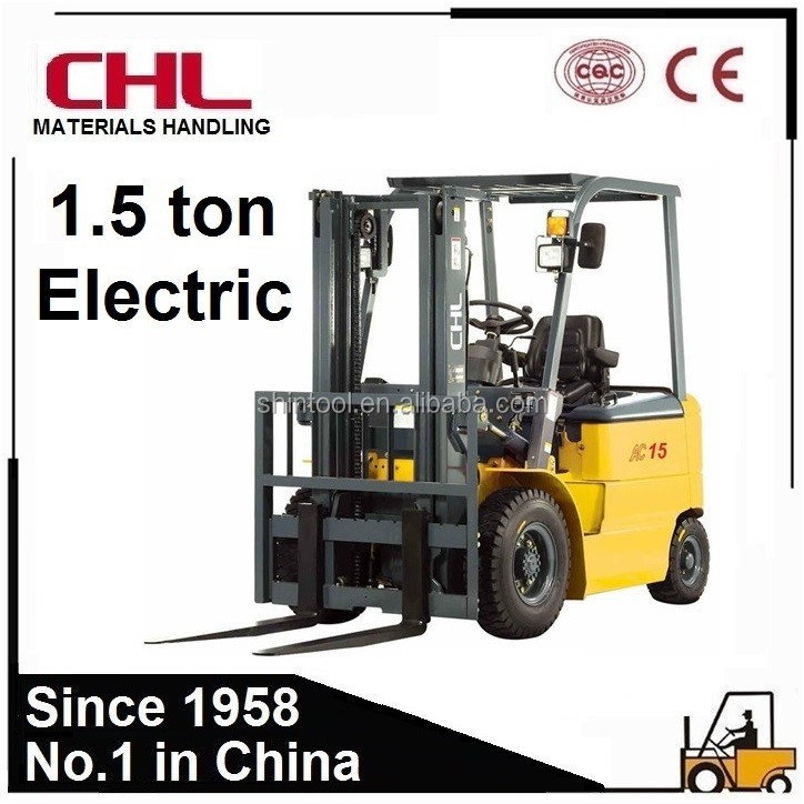 Small Forklift With 1.5 Ton Capacity Electric Small Forklift
