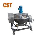 big capacity food grade industrial stainless steel food grade industrial jacket cooking pot