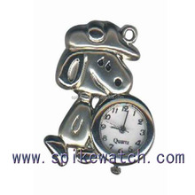Snoopy shape Quartz-analog Key Chain Small Face Watches