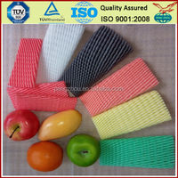 Popular Wholesale America Polythene Expanded White Foam Sleeve Net Protect Apples