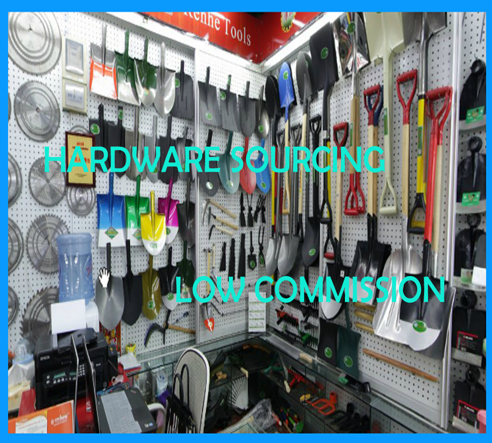Low commission hardware tools sourcing agent in yiwu