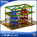 Outdoor Play Stucturer Rope Course Adventure