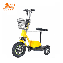 "ES04A 500W 48V 20AH CE 16"" three wheel zappy electric scooter"