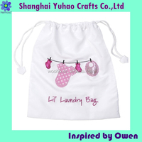 Cotton Laundry storage bag for socks lingerie