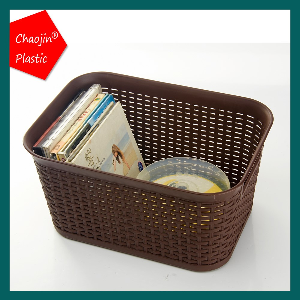 Rattan look laundry tub plastic laundry basket with lid view plastic launtry basket cj product - Plastic hamper with lid ...