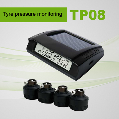 screen display solar tire pressure monitor system with CE Certification