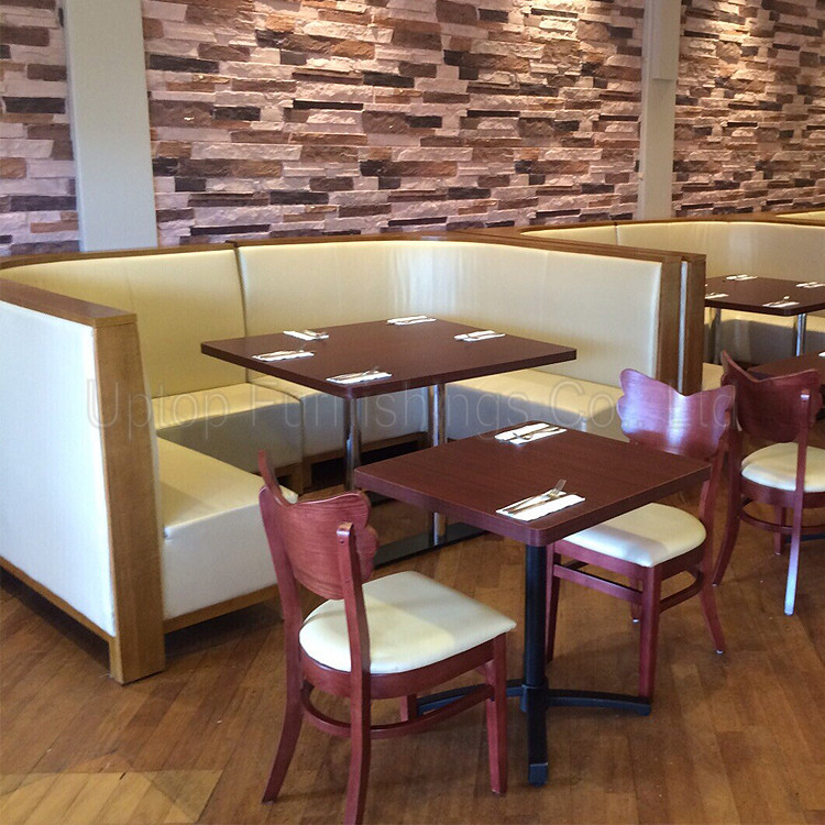 Sp cs commercial wooden booth seating restaurant