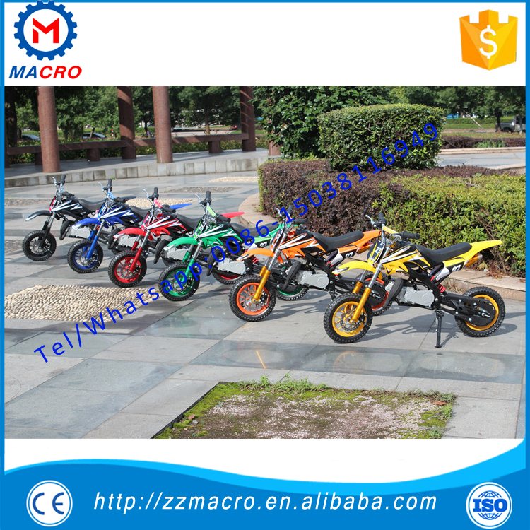 2 stroke dirt bike 49cc super pocket bike
