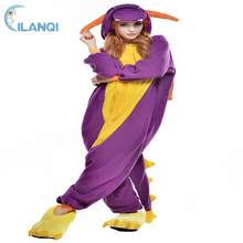 Professional costume family pajamas fitted spyro the dragon onesie