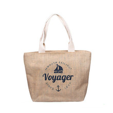 Best quality wine jute bag 6 bottle beer jute bag for promotion