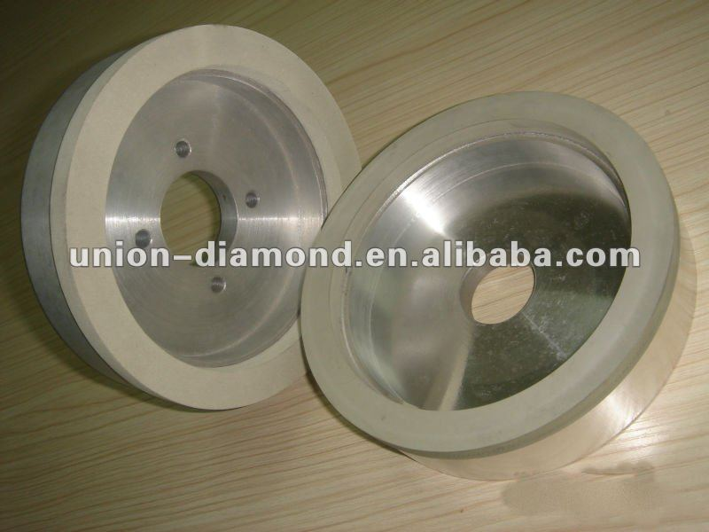 vitrfied bond diamond grinding wheel for PCD, PCBN inserts