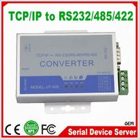 Low Cost 10 100M Serial Server Ethernet LAN TCP/IP to Serial RS232 RS485 RS422 Converter rs485 to lan converter