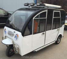New fully closed 3 wheel electric tricycle for passenger