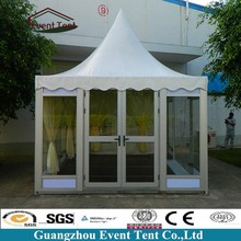 2017 20x20 ft Hot Sale Beach Gazebo Canopy Tent With Glass Door